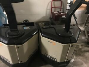 Crown Electric Pallet Jack Model Pw 3520 60 Walkie No Batterie No good Cond