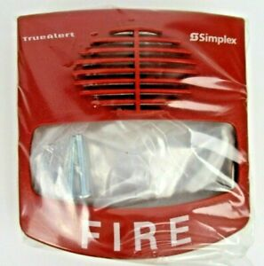 new Simplex 4903 9426 Audio visible Horn strobe 75cd