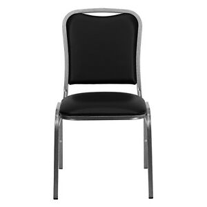 Stackable Church Chair Conference Room Waiting Guest Reception Heavy Duty 500 Lb