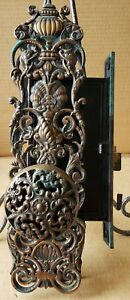 All Original Bronze Victorian Entry Door Set With Dolphins The Best