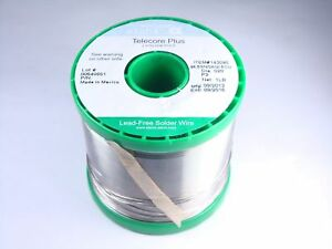 143090 Alpha Telecore Plus No Clean Lead Free Solder Wire 020 96 5sn 3ag 5cu