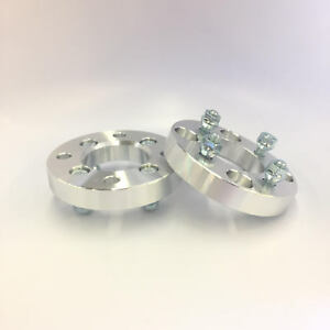 2pc 20mm Wheel Spacers 4x100 To 4x100 12x1 5 Threads Approx 13 16 Thick