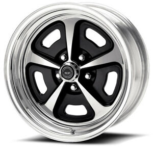 17x7 17x9 5 American Racing Billet Magnum Style Wheels For Mustang 1969 1973