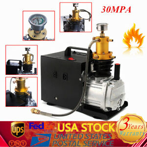 30mpa Electric Compressor Pcp Air Pump Water Cooled High Pressure System 4500psi
