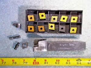 Valenite Mclnr 124 Right Hand Indexable Cnmg Tool Holder 3 4 Shank 10 Inserts