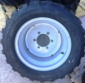 One Take Off 27x12 50 15 Carlisle Trac Chief 4 Ply Tractor Tire Used