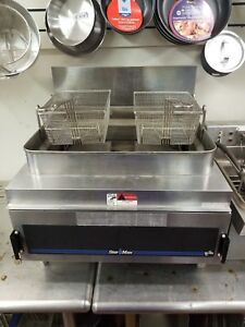 Star Max Stainless Steel Deep Fryer Model 630fd With Two Brand New Baskets