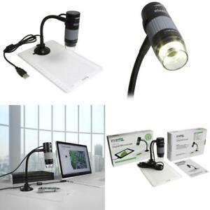 Digital Microscope With Flexible Arm Observation Stand For Windows Mac Linux