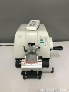 Leica Rm2245 Semi automated Rotary Microtome 2245 Histopathology Reichert Jung