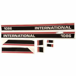 Decal Set For Case international Harvester 1086 Tractor