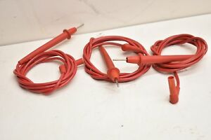 Fluke 1500v Test Probes 1000v 1500v Mixed Lot Of 3
