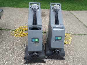 2 Carpet Cleaners Tennant Nobles Ex sc 716 Self contained Carpet Cleaners