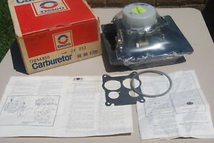 Nos Gm 73 74 Cadillac Rochester Quadrajet Carburetor 472 4mv 4 Barrel Sealed