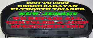 97 98 99 2000 Dodge Caravan Plymouth Cluster Software Odometer Calibration
