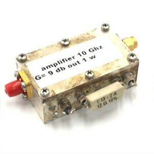10ghz G 9dm 1w Sma Microwave Amplifier