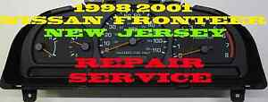 98 99 2000 01 02 2011 Nissan Frontier Cluster Software Odometer Calibration