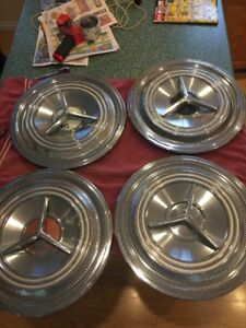1959 Oldsmobile Hubcaps 59 Olds Vintage Classic Spinner Flipper 3 Bar