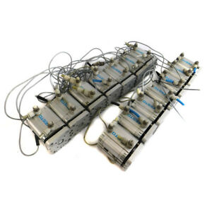lot Of 14 Festo Advul 40 25 pa Pneumatic Compact Air Cylinders 40mm Bore 25mm