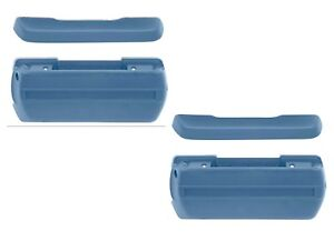 Camaro Nova Impala Replacement Arm Rest Pad Set Both Sides Of Car Md Blue