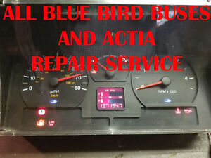 All Blue Bird Buses And Actia Cluster Software Odometer Calibration