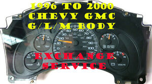 2002 To 2007 Chevy Express Van Cluster Software Odometer Calobration Service