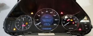 Mercedes C Class Clk Instrument Cluster Software Odometer Calibration Service
