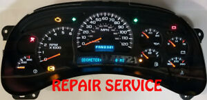 2003 To 2006 Chevrolet Avalanche Cluster Software Odometer Calibration Serv