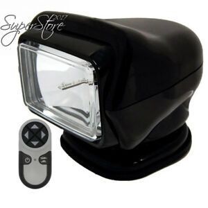 Go Light Stryker Hid Searchlight Wireless Handheld Remote Magnetic Base Black