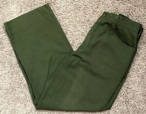 Fss Aramid Wildland Firefighter Pants Green Made In Usa Women s Size 14x29