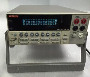 Keithley 2000 6 1 2 Digital Multimeter 5 Seller Refurbished 6 Mon Warranty