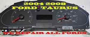 2004 2007 Mercury Sable Ford Taurus Cluster Software Odometer Calibration