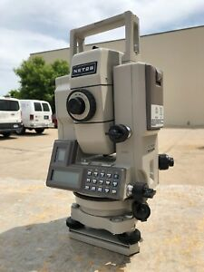 Sokkia Monmos Net2 Surveying Total Station W Hard Case Battery