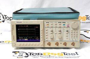 Tektronix Tds744a Oscilloscope 500mhz Gs s Opts 1m Calibrated