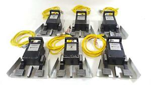 Conmed Monopolar Electrosurgical Foot Switch 60 5104 001 Esu Pedal lot Of 6