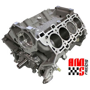 Ams Racing Ford M50r 5 0l Gen Ii Coyote Forged Short Block W Mahle Pistons