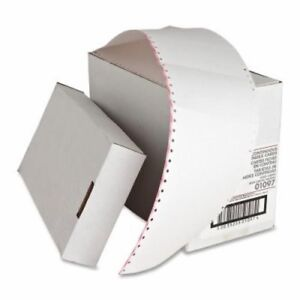 Sparco Index Cards Continuous feed Punched 3 x5 4000 ct We spr01097