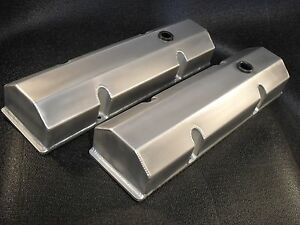 Aluminum Tall Valve Covers Chevrolet Chevy Small Block 283 302 327 350 400