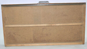 Vintage Printer s Letterpress Type Drawer Shadow Box Full Size Adjustable Case