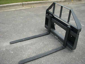 Quicke Euro Global Tractor Loader Attachment 42 Pallet Forks 149 Ship