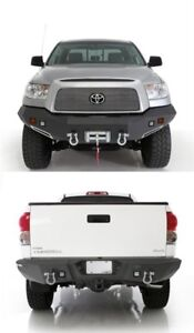 Smittybilt M1 Winch Mount Front Rear Bumper 07 13 For Toyota Tundra 612840