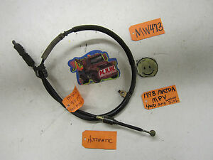 96 97 98 Mazda Mpv Van Auto Automatic Transmission Shifter Cable Oem Cabel Used