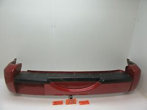 02 07 Jeep Liberty Rear Bumper Cover Prh Inferno Red Crystal Pearl Oem Oe Back