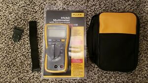Fluke 116 Meter With Fluke Leads Soft Case Hanging Magnet Brand New 117 115