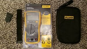 Fluke 115 Meter With Fluke Leads Soft Case Hanging Magnet Brand New 117 116