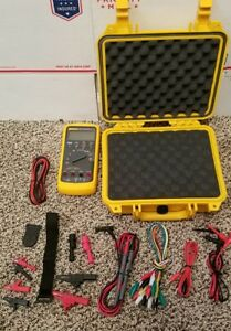 Fluke 787 Process Multimeter Great Condition All Accessories Brand New 789