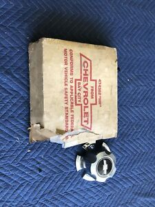 Nos Gm 1970 1979 Chevy 14 X 7 Rally Wheel Hub Center Caps Set Of 4 474362