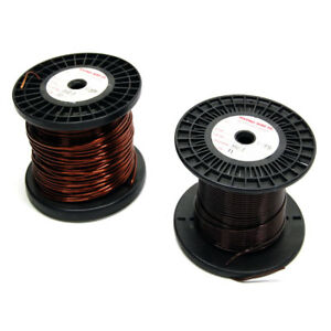New Roll Of 11 Awg Copper Magnet Wire 8 Pounds Hei Insulation Cable Wrap