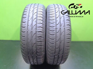 2 Nice Continental Tires 175 65 15 Contipremiumcontact 2 84h Minicooper 46685