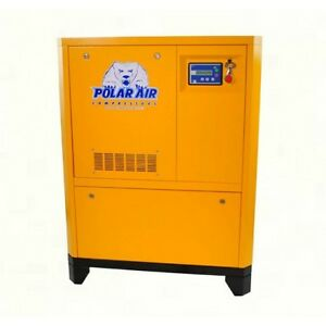 30 Hp 3 Phase Direct Drive Rotary Screw Compressor 10 Yr Warranty No China Parts