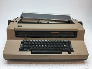 Ibm Correcting Selectric Iii Electric Typewriter Tan brown As is Parts repair